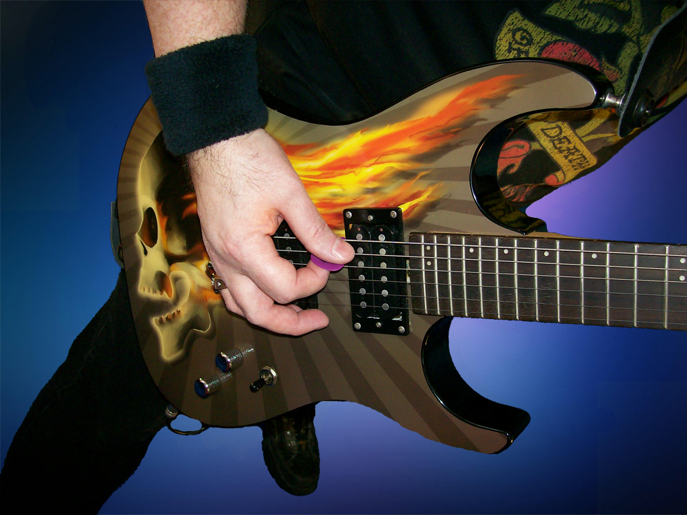 Bob-Oister-Guitar-Face-The-Fire-Light-And-Shadows